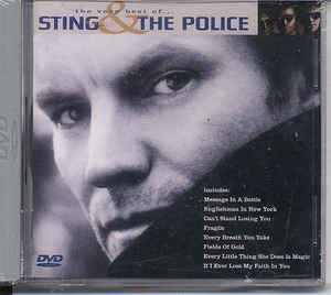 (DVD)Sting  The Police - The Very Best Of